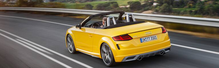 Audi TT Roadster descapotable canarias
